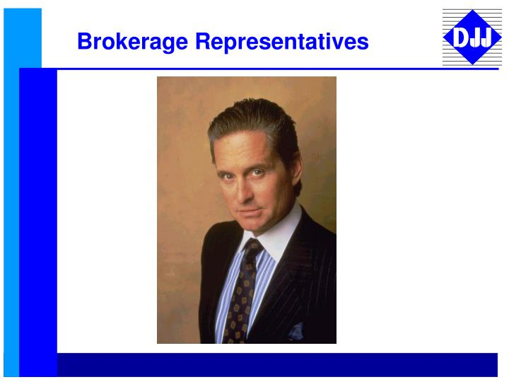Brokerage Representatives