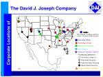 the david j joseph company