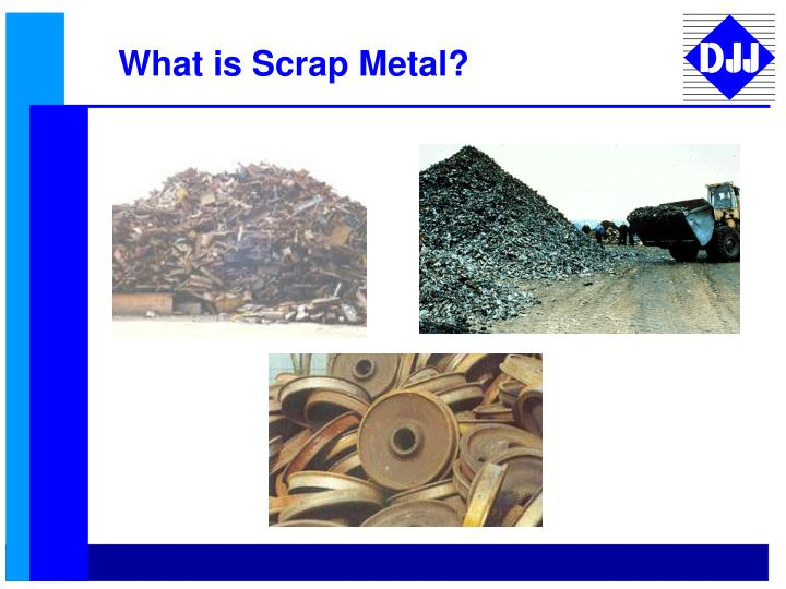 What is Scrap Metal?
