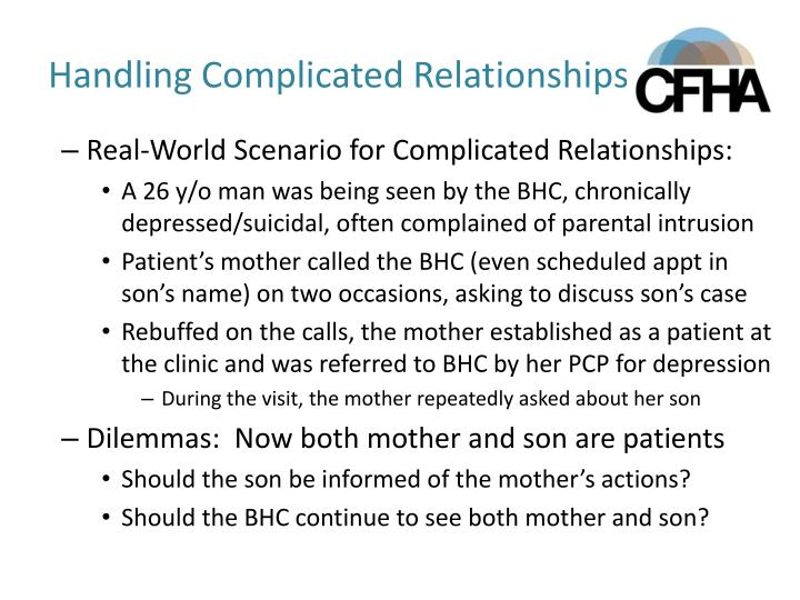 Handling Complicated Relationships