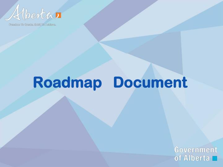 Roadmap   Document