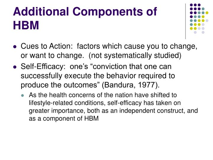 Additional Components of HBM