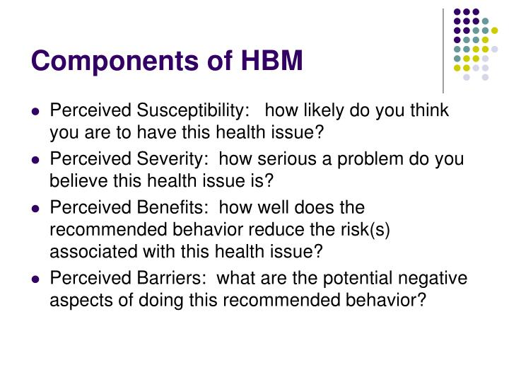 Components of HBM