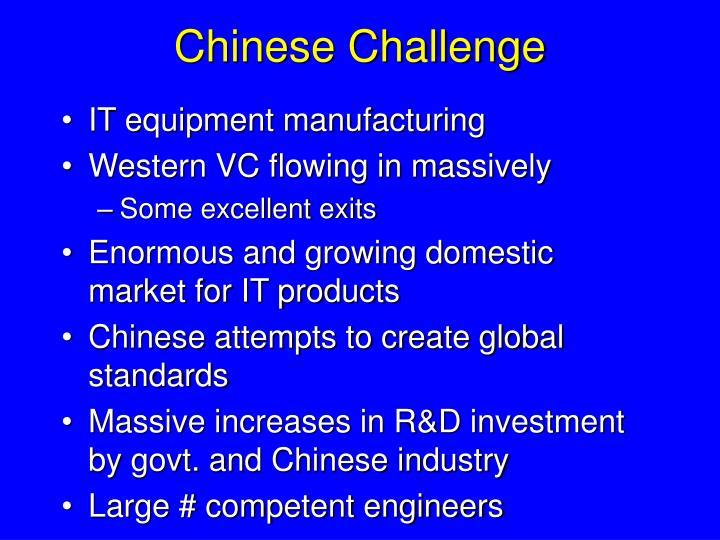 Chinese Challenge