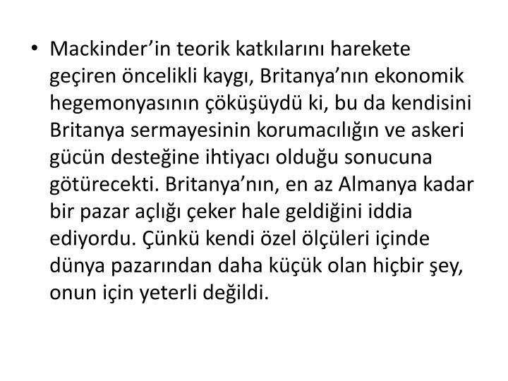 Mackinder'in