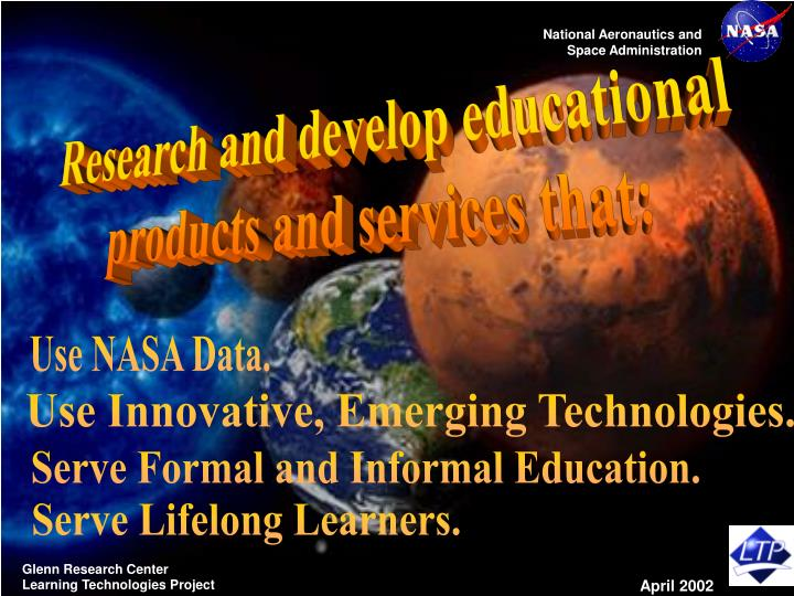 Research and develop educational