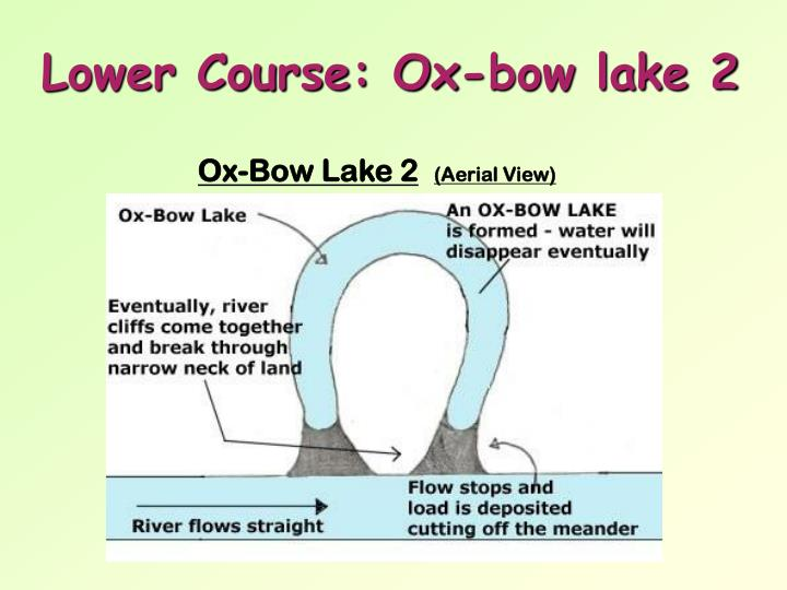 Lower Course: Ox-bow lake 2