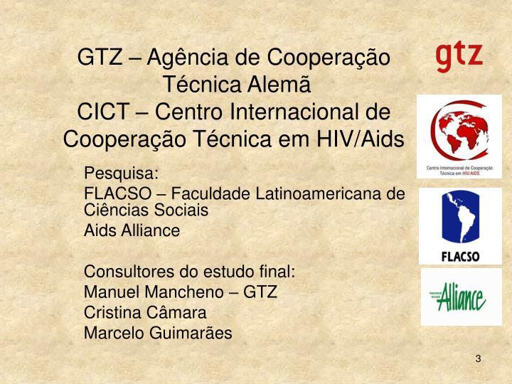 GTZ – Agência de Cooperação