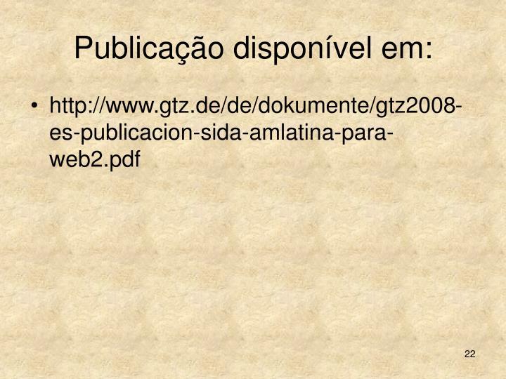 Publicação disponível em: