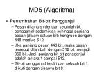 md5 algoritma