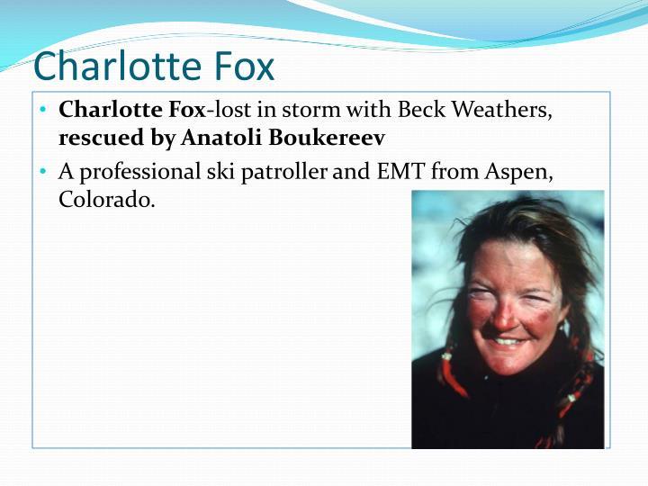 Charlotte Fox