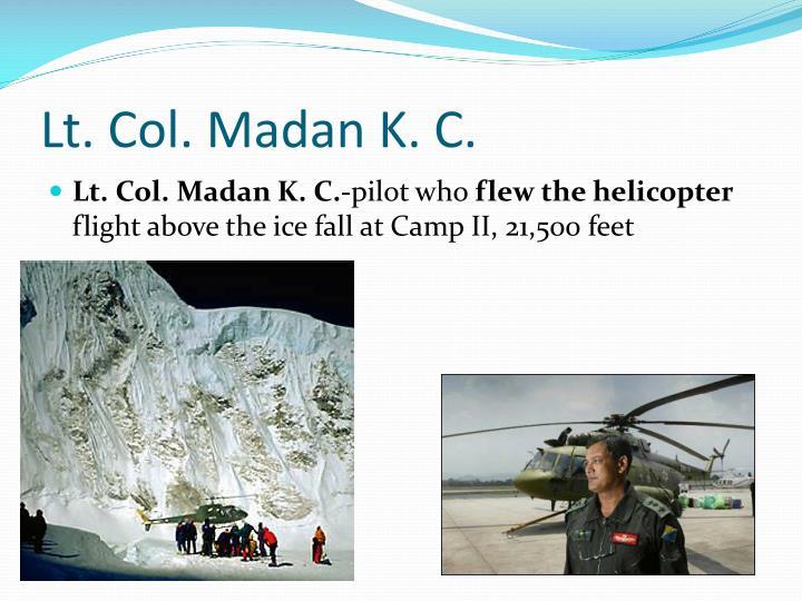 Lt. Col.