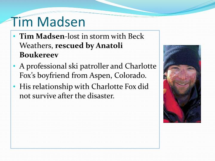 Tim Madsen