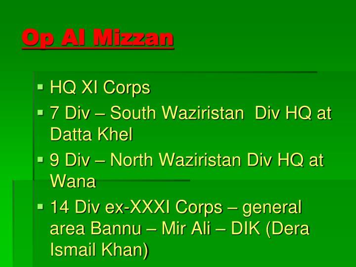 Op Al Mizzan