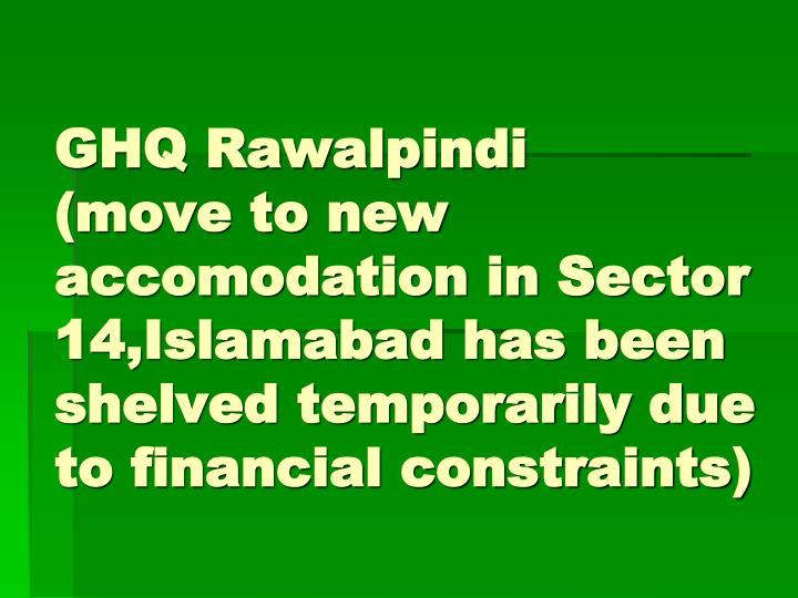 GHQ Rawalpindi