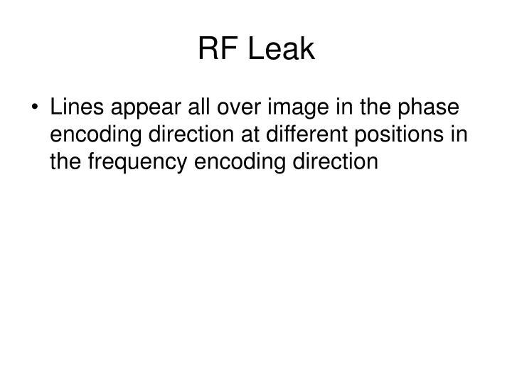 RF Leak