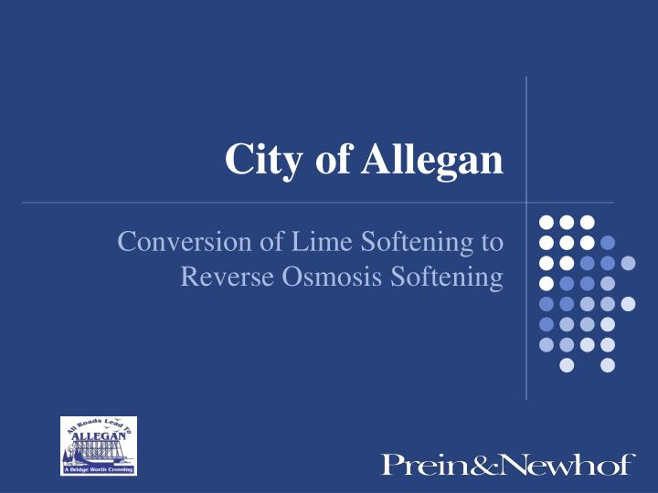 City of Allegan