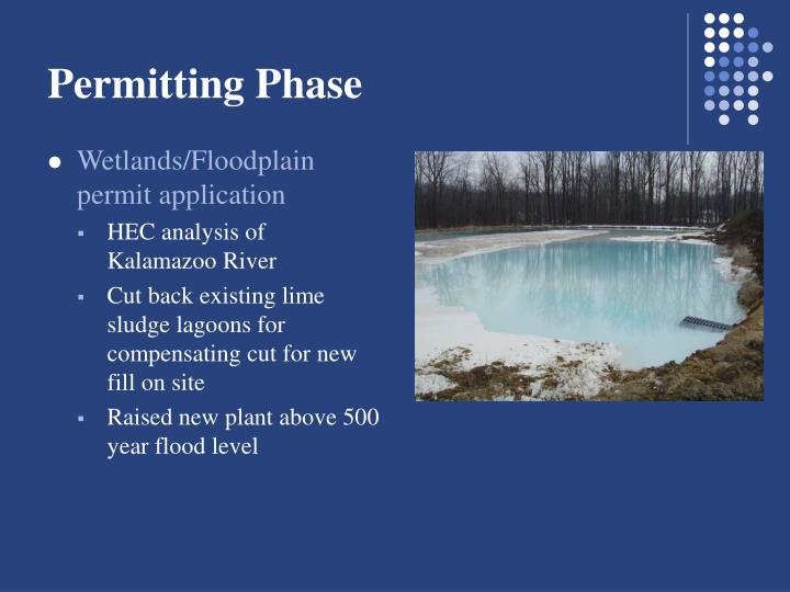 Permitting Phase