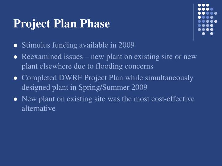 Project Plan Phase