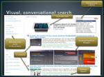 visual conversational search1
