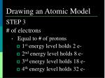 drawing an atomic model1
