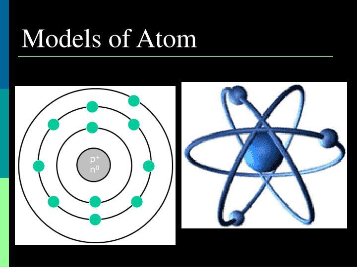 Models of Atom