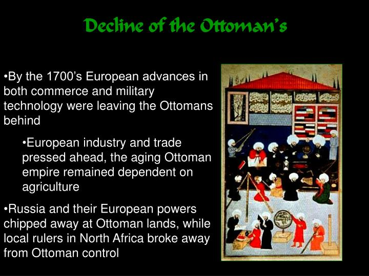Decline of the Ottoman's