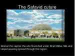 the safavid cuture