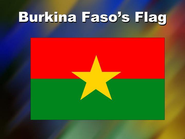 Burkina Faso's Flag
