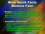 more quick facts burkina faso1