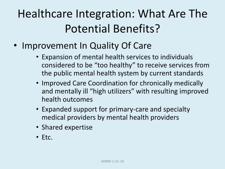 Healthcare Integration: What Are The Potential Benefits?
