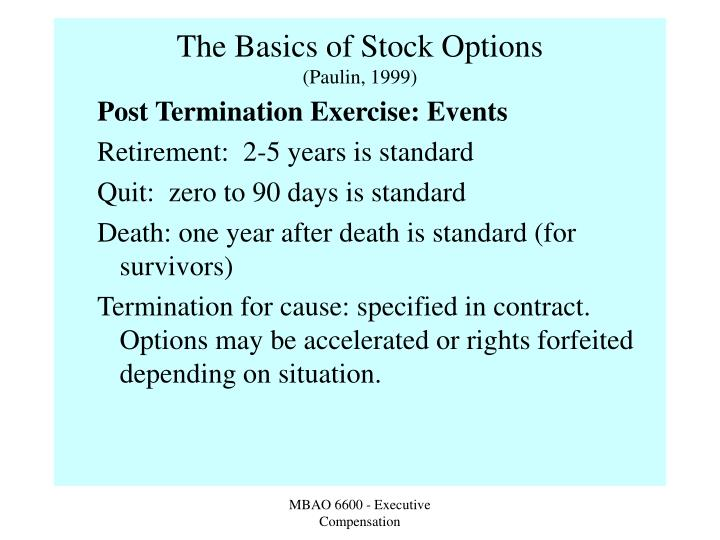 Stock options club