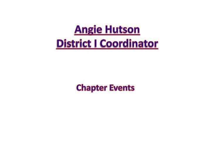 Angie Hutson