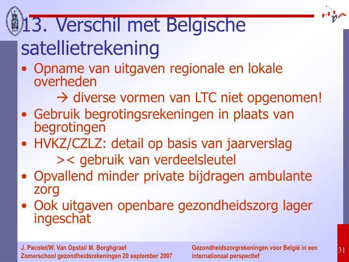 Opname van uitgaven regionale en lokale overheden