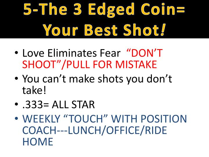 5-The 3 Edged Coin=