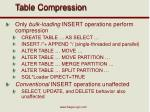 table compression2
