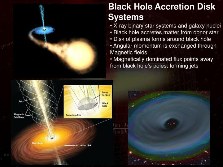 black hole accretion - photo #12