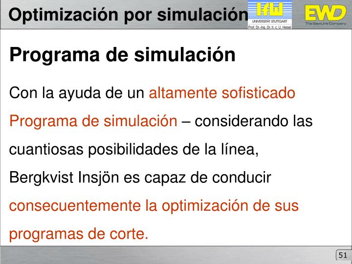 Optimización por simulación