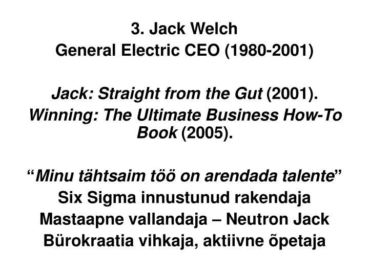 3. Jack Welch