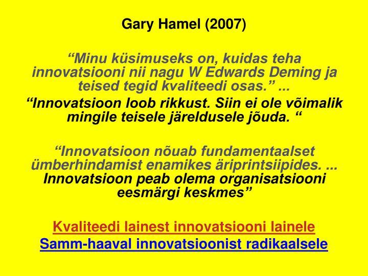 Gary Hamel (2007)