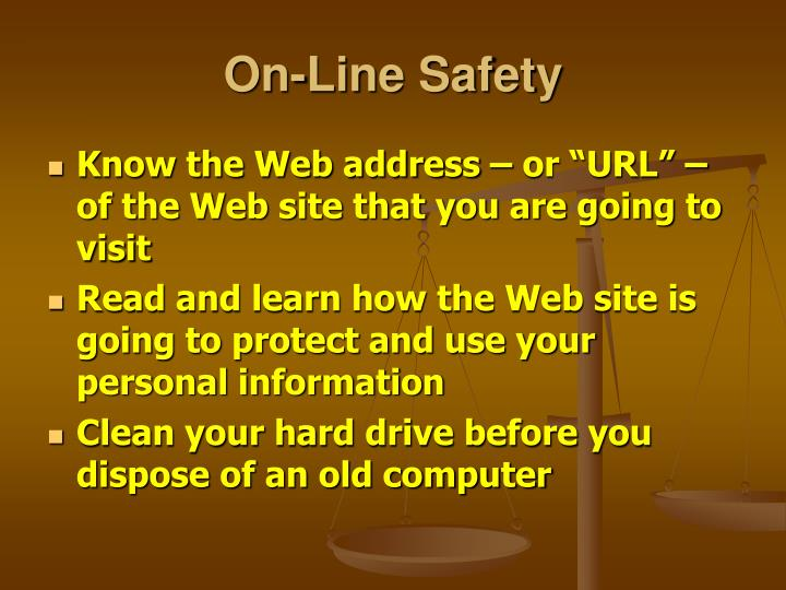 On-Line Safety