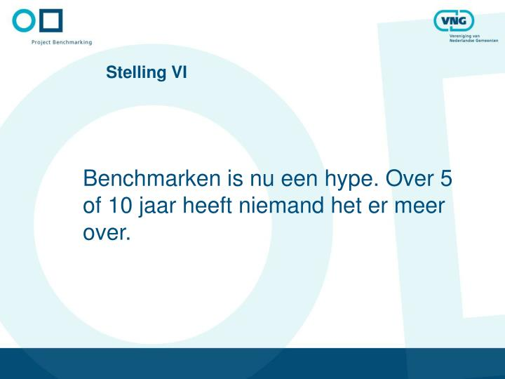 Stelling VI