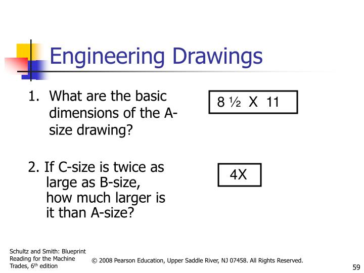 What are the basic dimensions of the A-size drawing?