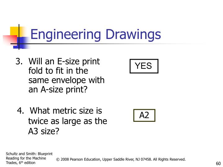 Will an E-size print fold to fit in the same envelope with an A-size print?