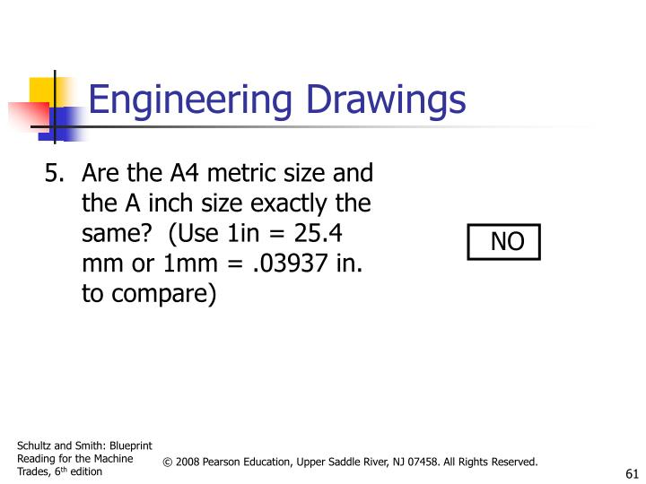 Are the A4 metric size and the A inch size exactly the same?  (Use 1in = 25.4 mm or 1mm = .03937 in. to compare)