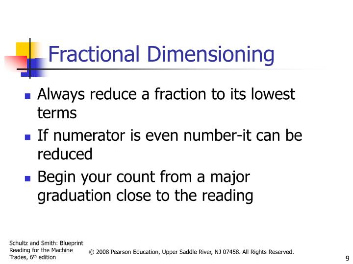Fractional Dimensioning