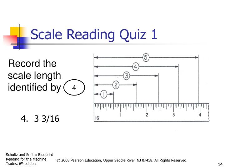 Scale Reading Quiz 1