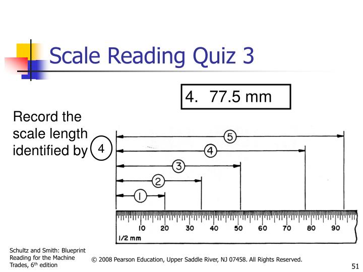 Scale Reading Quiz 3