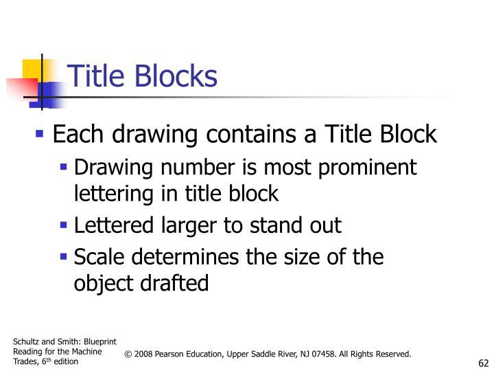 Title Blocks