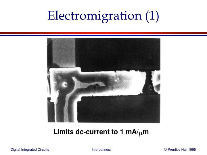Electromigration (1)